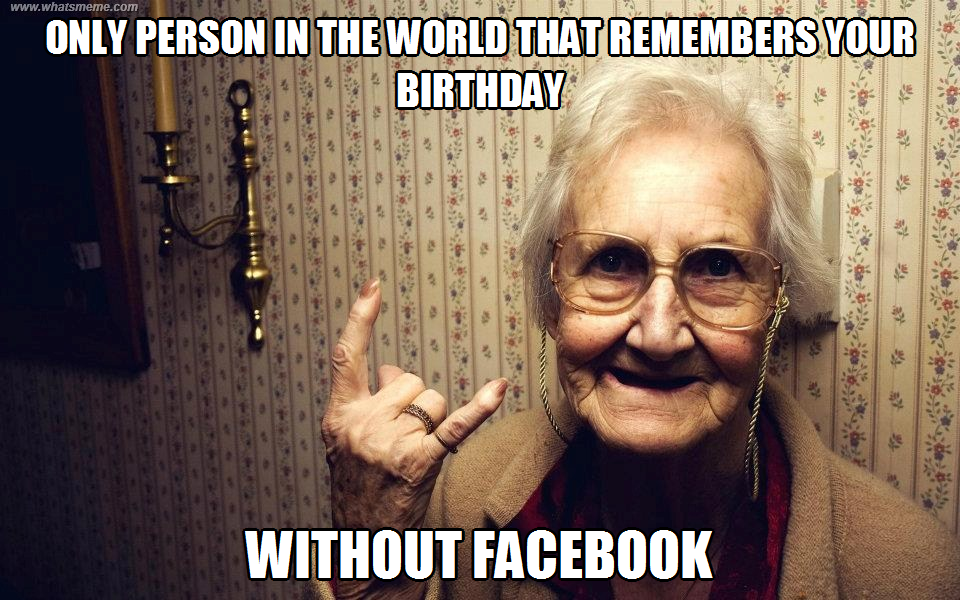 Memes Vault Birthday Meme For Facebook Walls Via Relatably