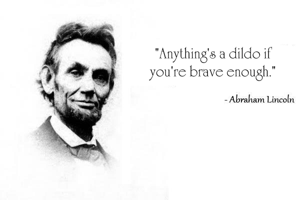 Fake Quote Memes on Historical Figures George And Abe