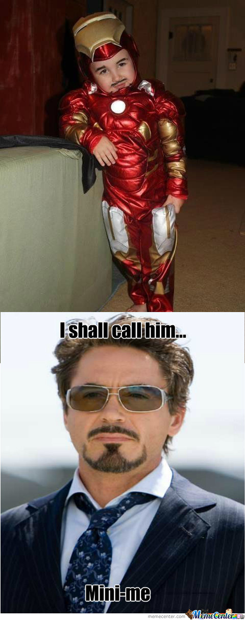 Iron man 2 memes image memes at - Mini iron man ...