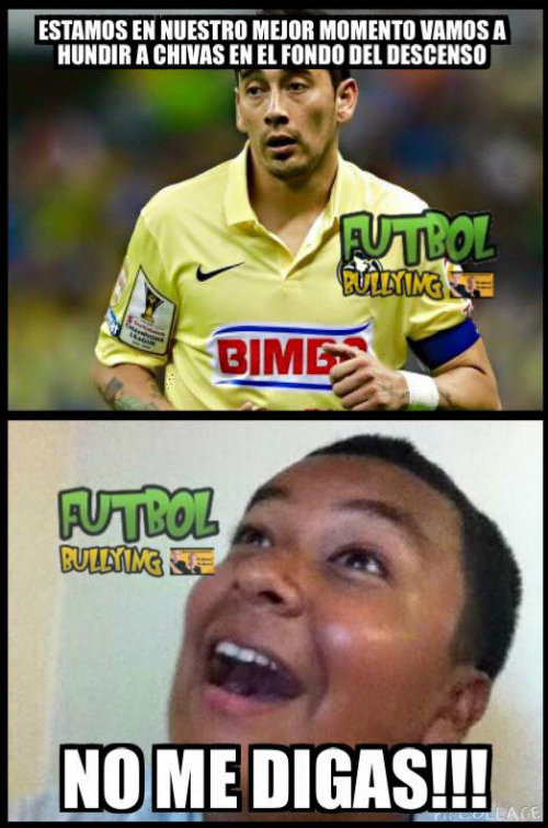 Memes Del America Vs Chivas Image At Relatably