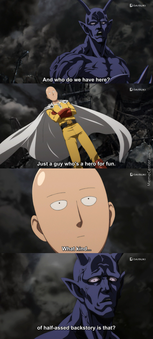 One Punch Man Memes Image Memes At Relatably Com
