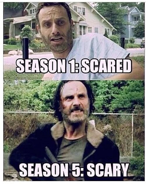 Rick Walking Dead Meme Season 6