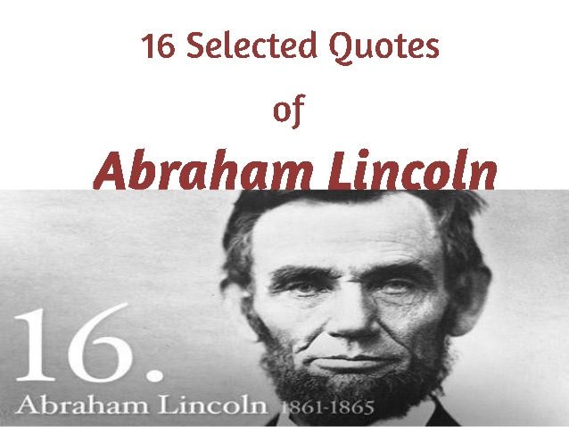 Abraham Lincoln Quotes About Education Image Quotes At Relatably Com