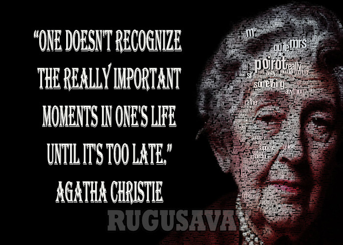 Agatha Christie Quotes Image Quotes At Relatably Com
