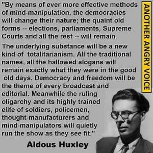aldous huxley respond at