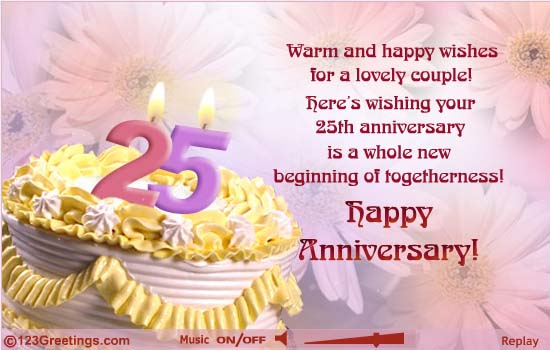 Free ecards 25th wedding anniversary 28 images cards and posters free ecards 25th wedding anniversary wedding anniversary invitation stopboris Image collections