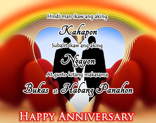 anniversary messages for boyfriend tagalog anniversary quotes for tagalog image quotes at 13751