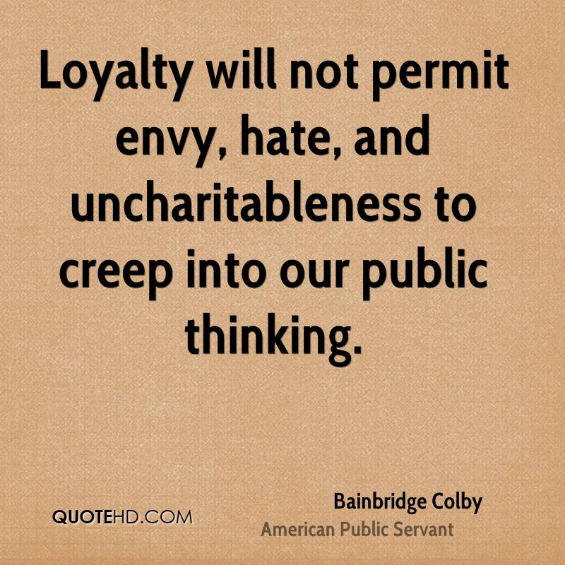 BAINBRIDGE COLBY QUOTES image quotes at relatably.com