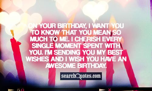 Long Distance Relationship Birthday Quotes