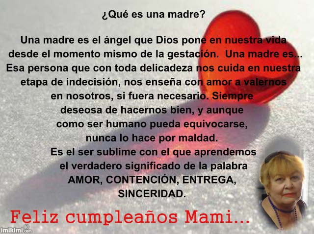 Birthday Quotes For Friends In Spanish : Birthday quotes for mom from daughter in spanish image