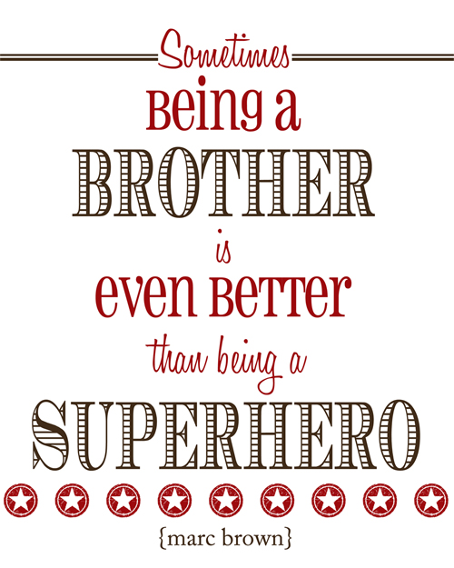 Big Sister To Brother Quotes: BROTHERS QUOTES Image Quotes At Relatably.com