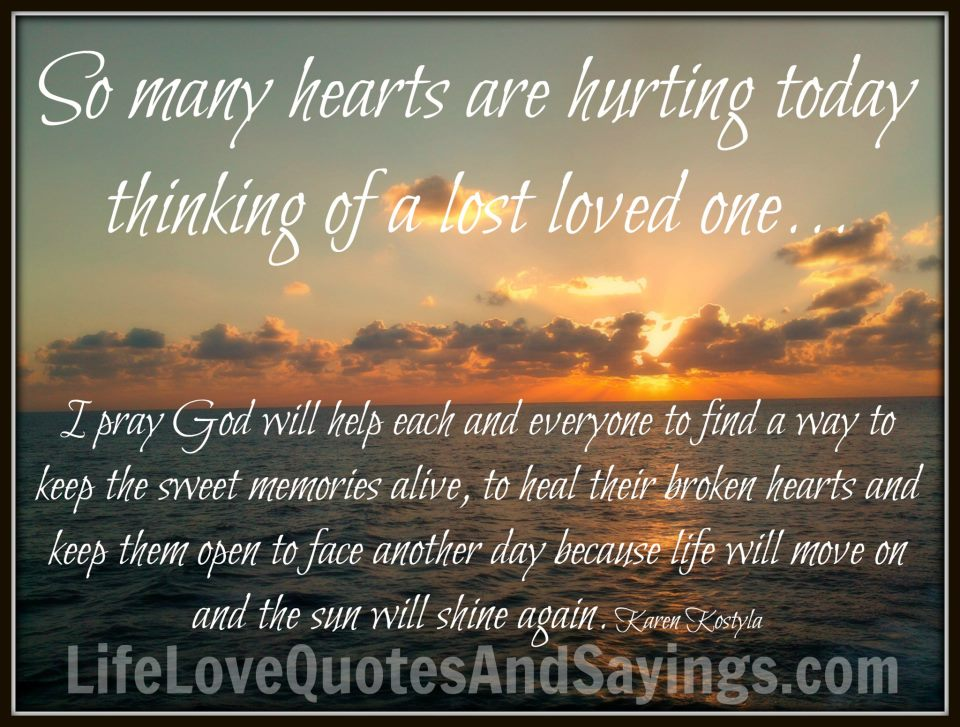 christian inspirational quotes about death of a loved one