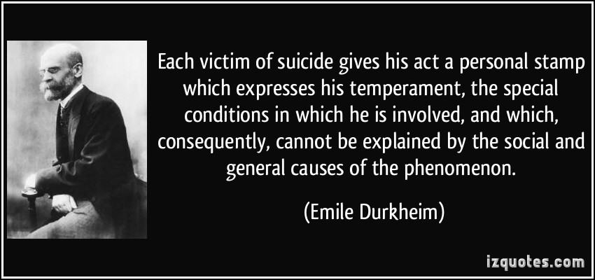 the life of emile durkheim essay