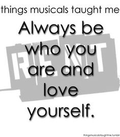 Famous Musicals Quotes Image Quotes At Relatably Com