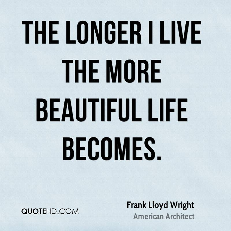 Download Popular Quotes About Life: FRANK LLOYD WRIGHT QUOTES Image Quotes At Relatably.com