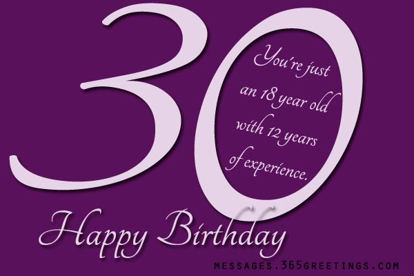 FUNNY 30TH BIRTHDAY QUOTES FOR HER image quotes at relatably – Funny 30th Birthday Greetings