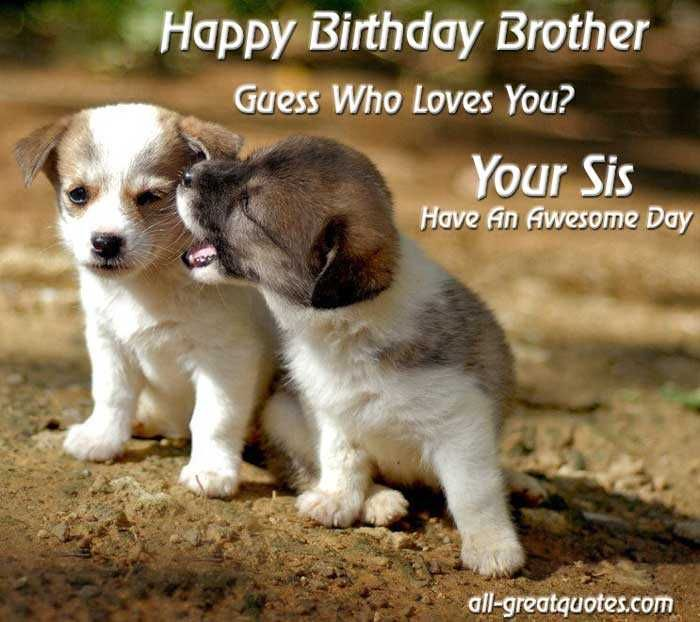 FUNNY BIRTHDAY QUOTES FOR LITTLE BROTHER image quotes at relatably com