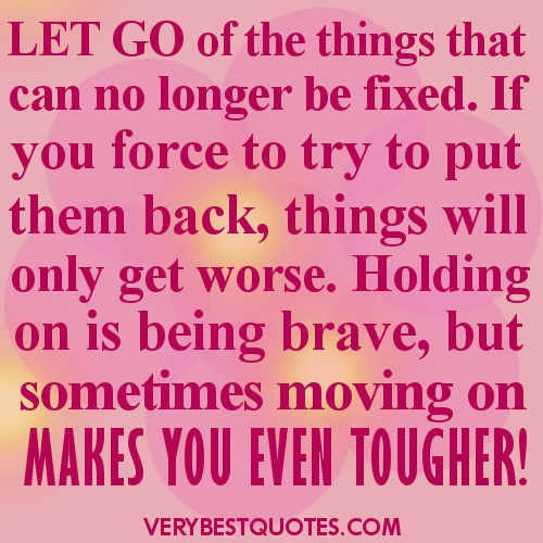 Letting Go Picture Quote With A Sad Girl ~ The Best Collection of ...