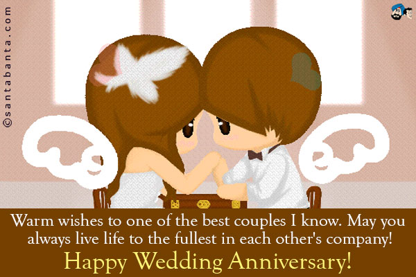Funny wedding anniversary quotes for friends image