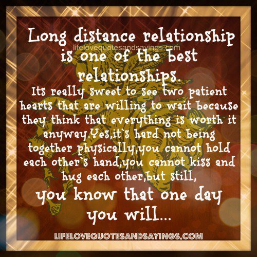 Encouraging Quotes For Long Distance Relationships: GOOD MORNING QUOTES FOR HIM LONG DISTANCE Image Quotes At