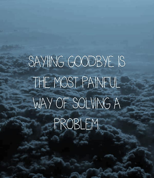 Quotes About Saying Good Bye: GOODBYE QUOTES Image Quotes At Relatably.com