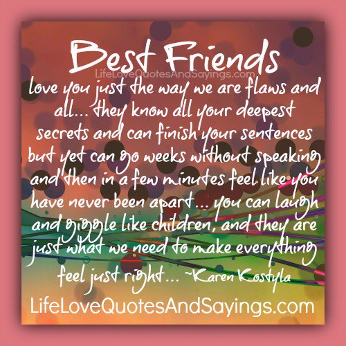 I Love U Friend Quotes: I LOVE YOU BECAUSE YOU ARE MY BEST FRIEND QUOTES Image