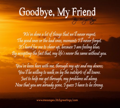 INSPIRATIONAL QUOTES ABOUT DEATH OF A BEST FRIEND image