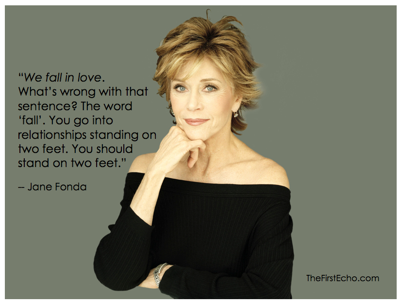 Related Keywords & Suggestions for jane fonda quotes