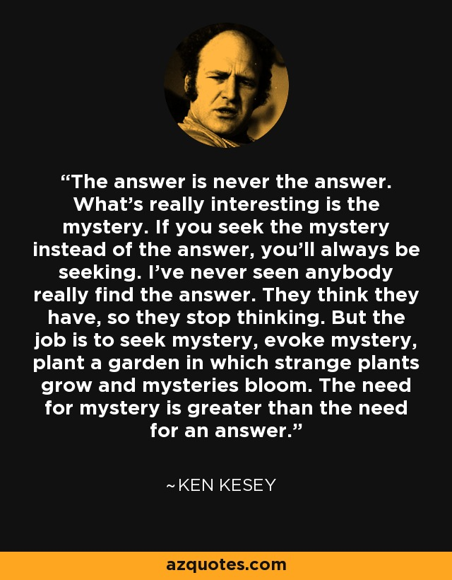 the life and works of ken kesey Ken kesey was an american author, best known for the novel, 'one flew over the cuckoo's nest' explore this biography to learn more about his profile, childhood, life and timeline.