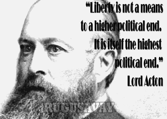 LORD ACTON QUOTES image quotes at relatably.com
