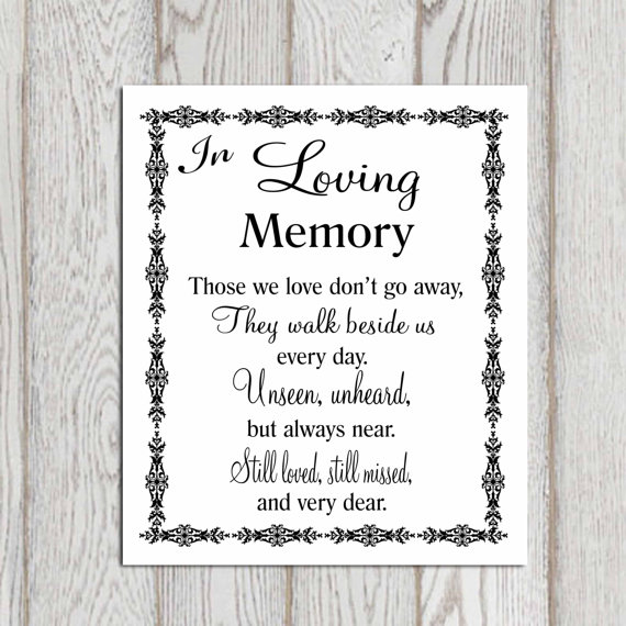 Quotes For Memory: MEMORY QUOTES FOR WEDDING Image Quotes At Relatably.com