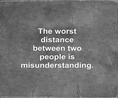 MISUNDERSTANDING QUOTES image quotes at relatably.com