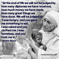 MOTHER TERESA QUOTES HELPING OTHERS image quotes at relatably.com