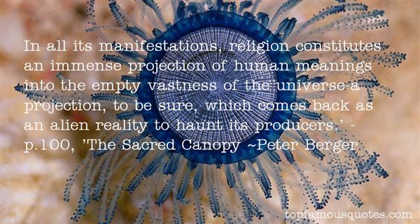 analysis of peter bergers the sacred canopy essay