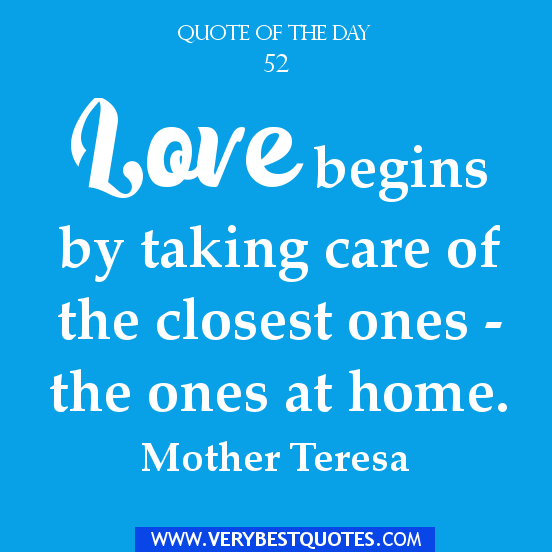 Positive Quote Of The Day: POSITIVE QUOTES ABOUT LOVE AND FAMILY Image Quotes At