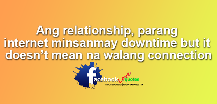 quotes about love and trust in a relationship tagalog