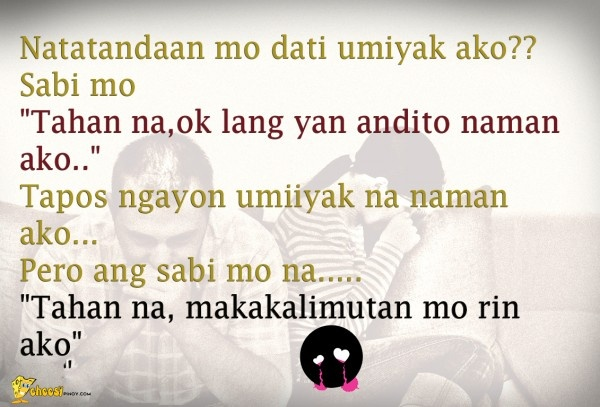 Hugot Funny Love Quotes : Tagalog Quotes on Pinterest Tagalog Love Quotes, Love quotes and ...