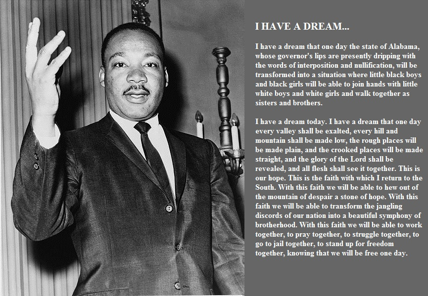 i have a dream full text pdf
