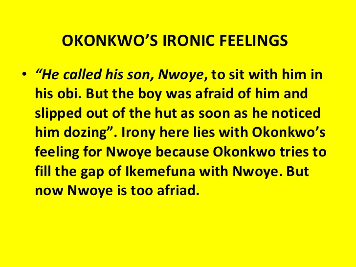 okonkwo and ikemefuna relationship counseling
