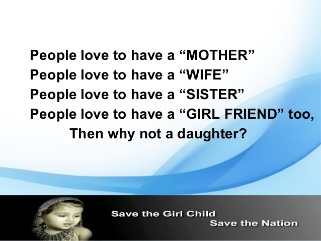 save girl essay