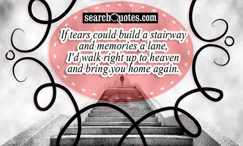 Sad Quotes About Losing Your Mother: Sad quotes about losing your ...