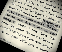 SAFE HAVEN BOOK QUOTES...