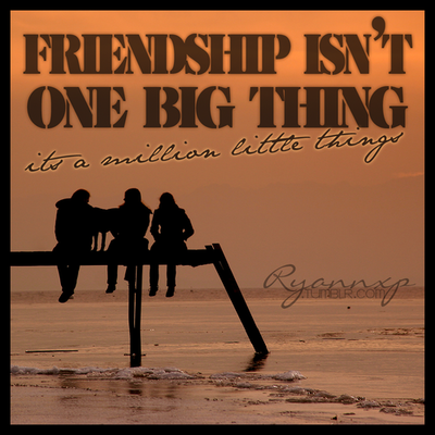 Quote About Friendship Tumblr SHORT QUOTES AB...