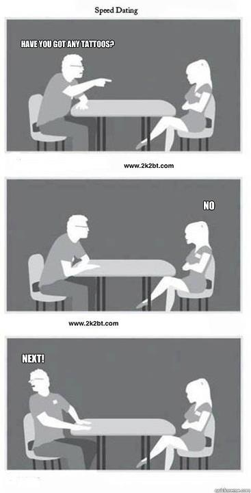 Speed dating quotes funny