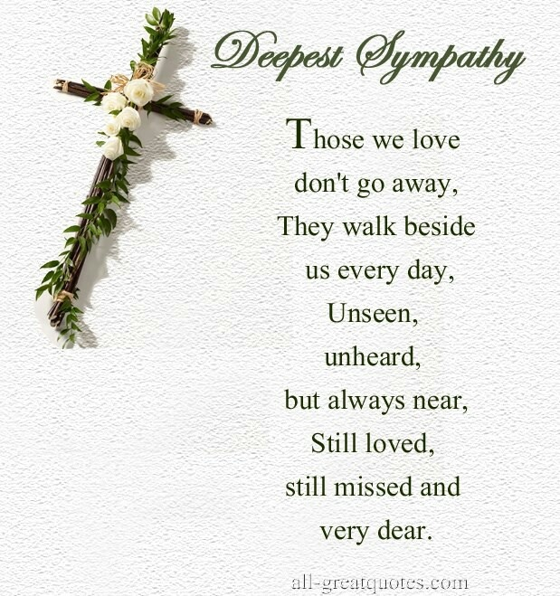 Religious Sympathy Quotes For Loss Of Mother: SYMPATHY QUOTES FOR LOSS OF MOTHER RELIGIOUS Image Quotes