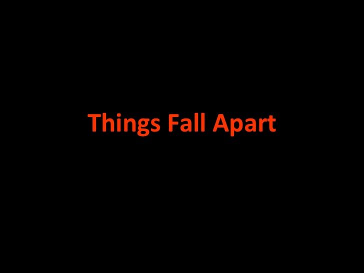 things fall apart chapter evidence Things fall apart  summary and analysis part 1: chapter 5  chapter 4  repeatedly illustrates okonkwo's volatility — his readiness to explode into   further evidence of his violent nature is revealed when he moves his feet in  response to the.