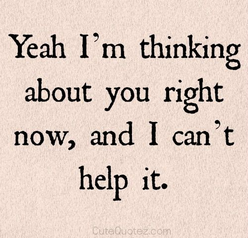 Thinking Of You Quotes: THINKING ABOUT YOU LOVE QUOTES FOR HER Image Quotes At