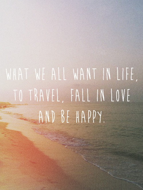 TRAVEL LOVE QUOTES TUMBLR image quotes at relatably.com