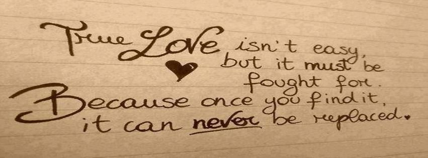 TRUE LOVE QUOTES COVER PHOTOS FOR FACEBOOK TIMELINE image ...