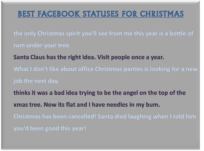 Christmas Quotes Image Quotes At Relatably Com: VERY FUNNY QUOTES FOR FACEBOOK STATUS Image Quotes At